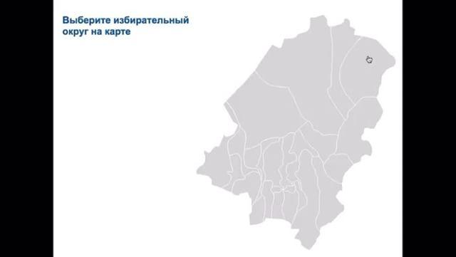 Интерактивная карта для Думы г. Артема